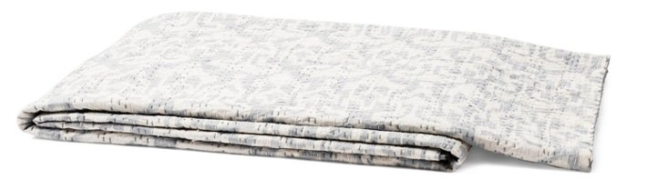 Lady Cotton Throw, Gray