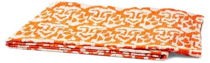 Lady Cotton Throw, Orange
