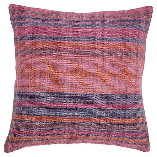 Cameron 18x18 Cotton Pillow, Pink