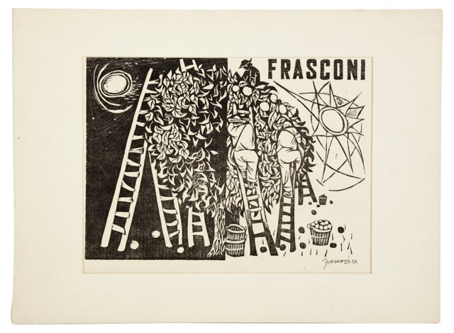 Agricultural Workers by Frasconi