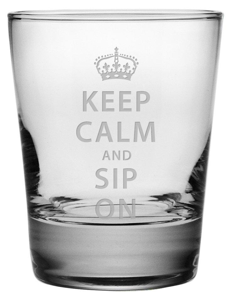 S/4 Keep Calm and Sip On DOF