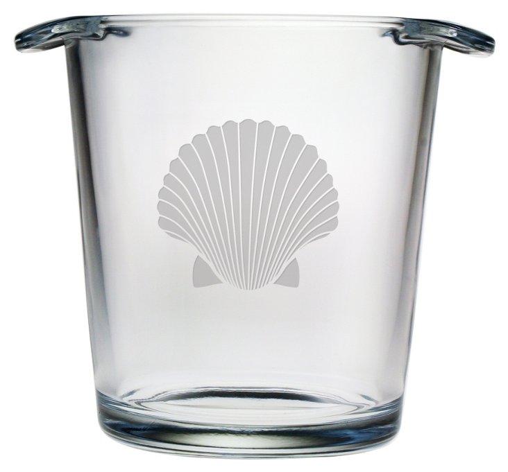 Fan Shell Ice Bucket