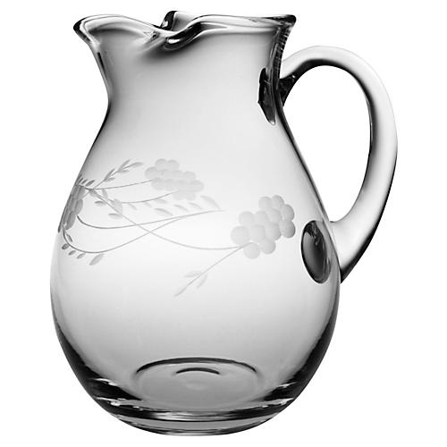 Adair Handcut Classic Pitcher, 90 Oz