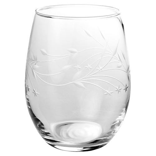 S/4 Fascination Stemless Wineglasses