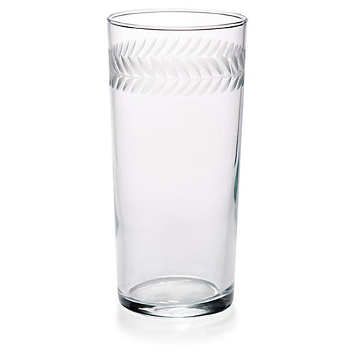 S/4 Laurel Highballs, Clear