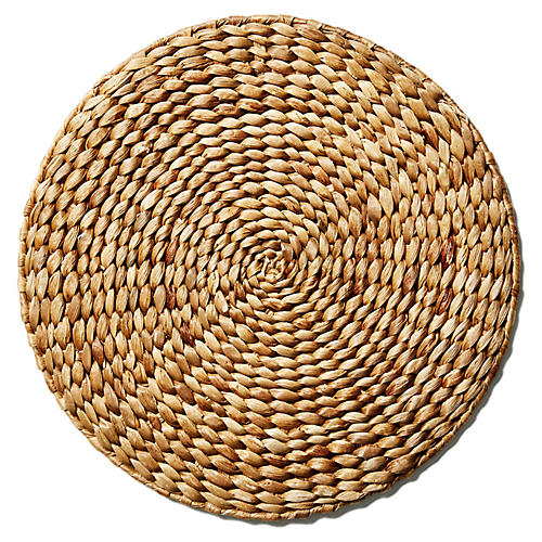 S/6 Munro Straw Place Mats, Light Natural