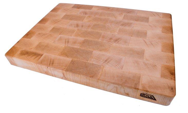 """Maple End Grain Board, 17"""" x 13"""""""