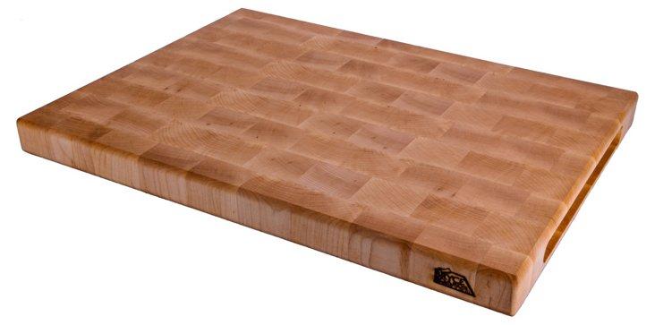 """Maple End Grain Board, 22"""" x 18"""""""