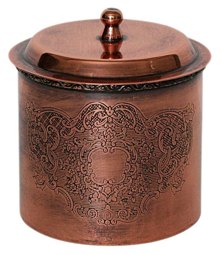 Brass Scroll Box