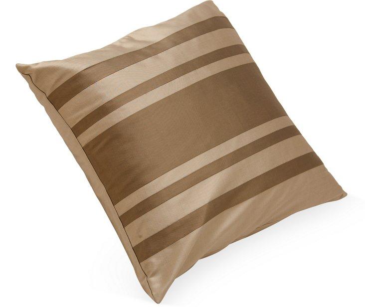 Gray & Silver Decorative Pillow