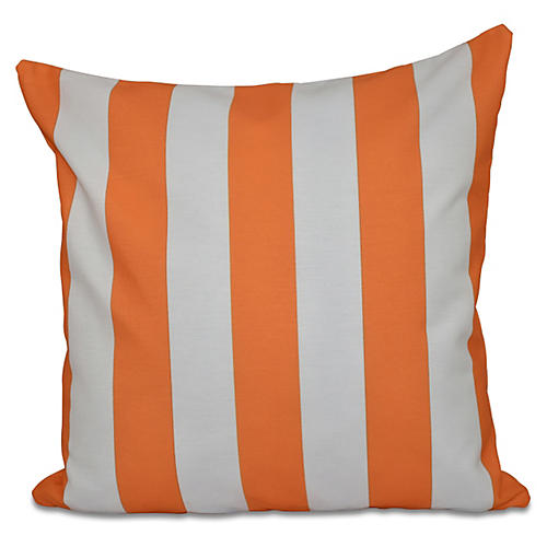 Exceptional Decorative Outdoor Pillow, Orange