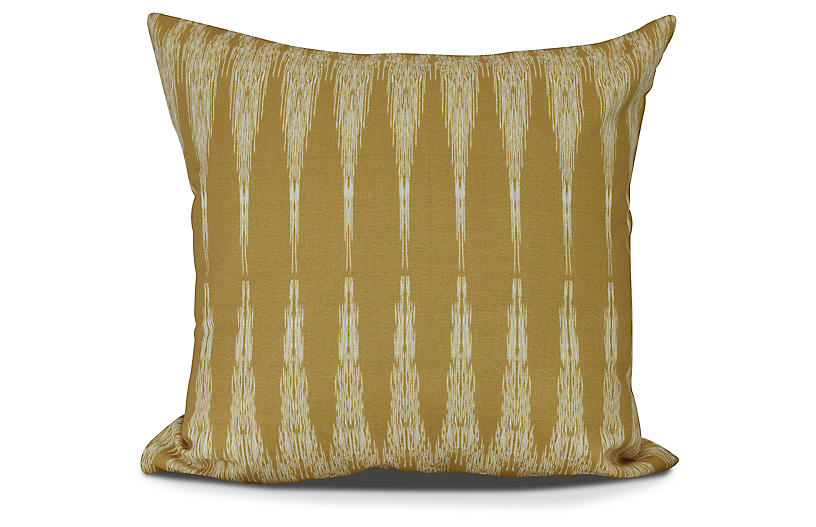 Kinship Outdoor Pillow, Gold
