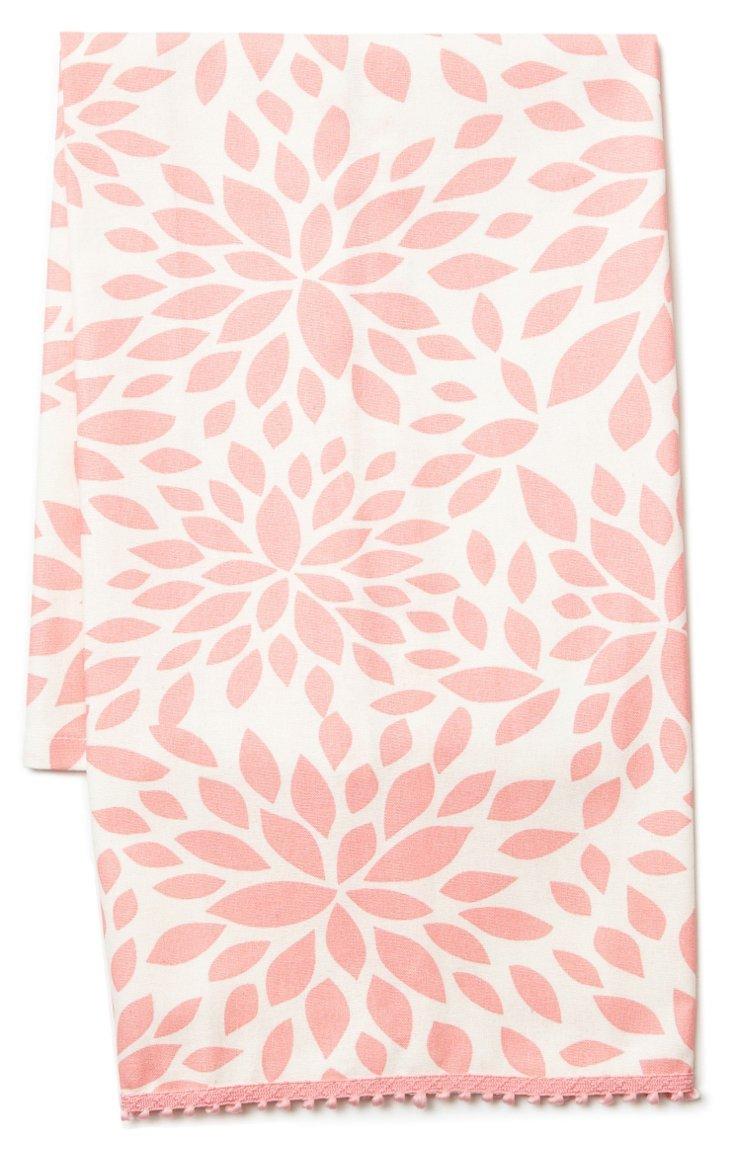 S/2 Dahlia Guest Towels, Pink
