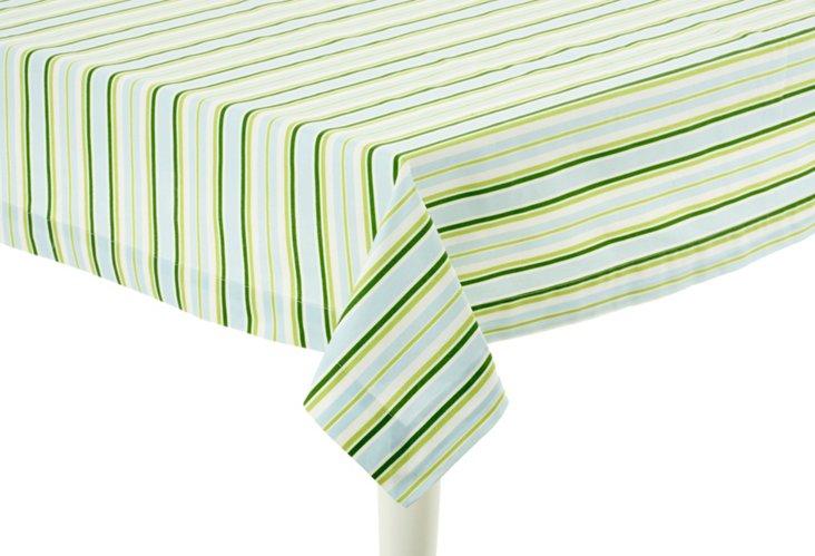 Square Striped Tablecloth