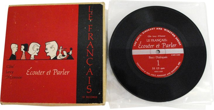 1960s French Lessons, 10-Record Set