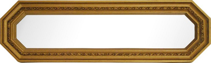 Gold Accent Mirror