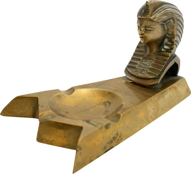 Egyptian Pharaoh Ashtray