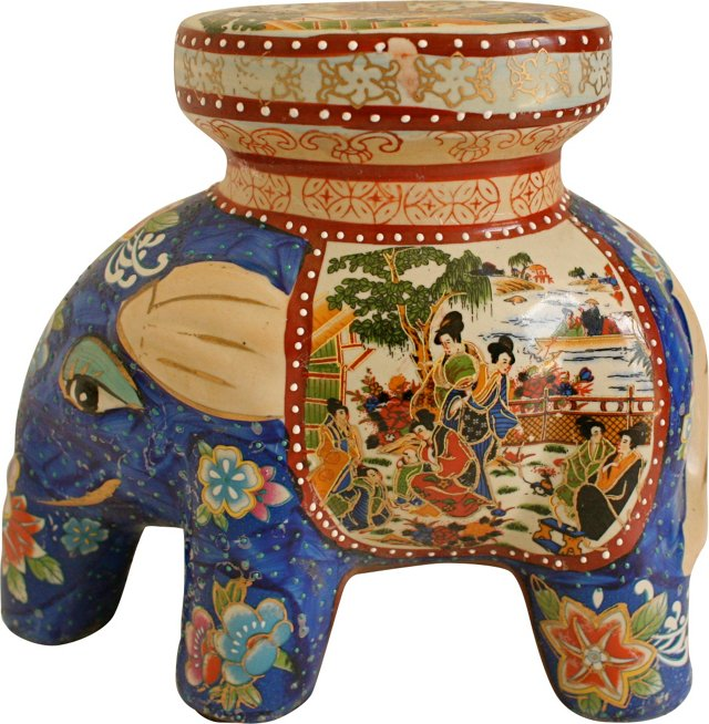 Elephant Plant Stand