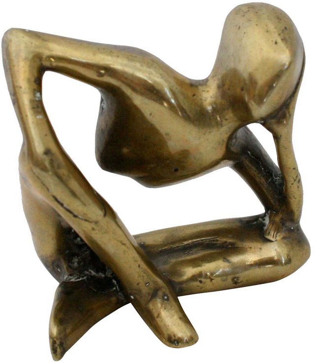 Modern Brass Sculpture