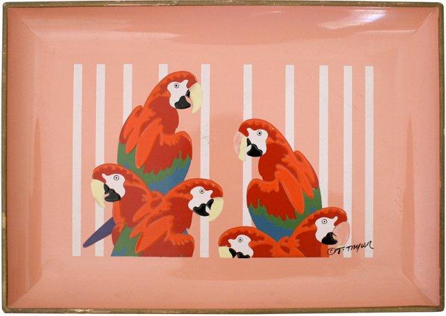 Acrylic Parrot Tray