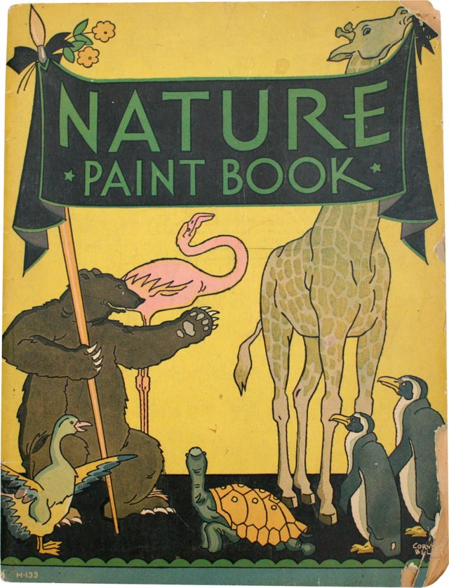 Nature Paint Book, 1933