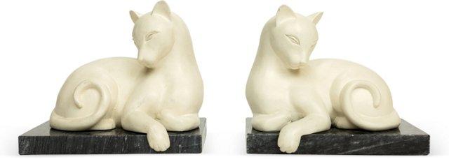 Siamese Cat Bookends