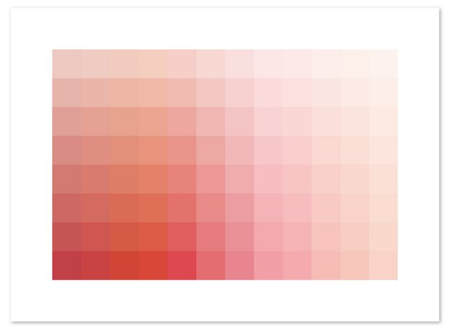 Pink Spectrum Print