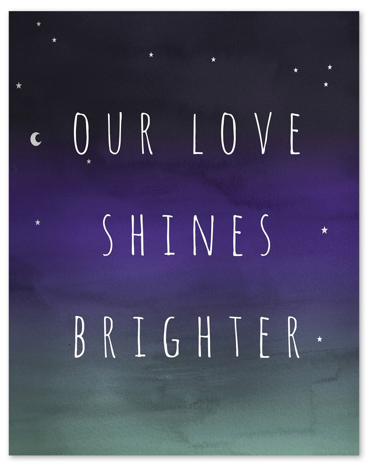 Our Love Shines Brighter