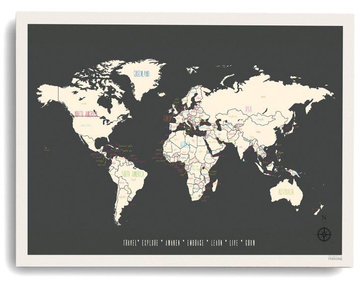 My Travel World Map