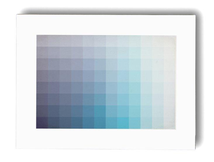 Blue Spectrum, canvas