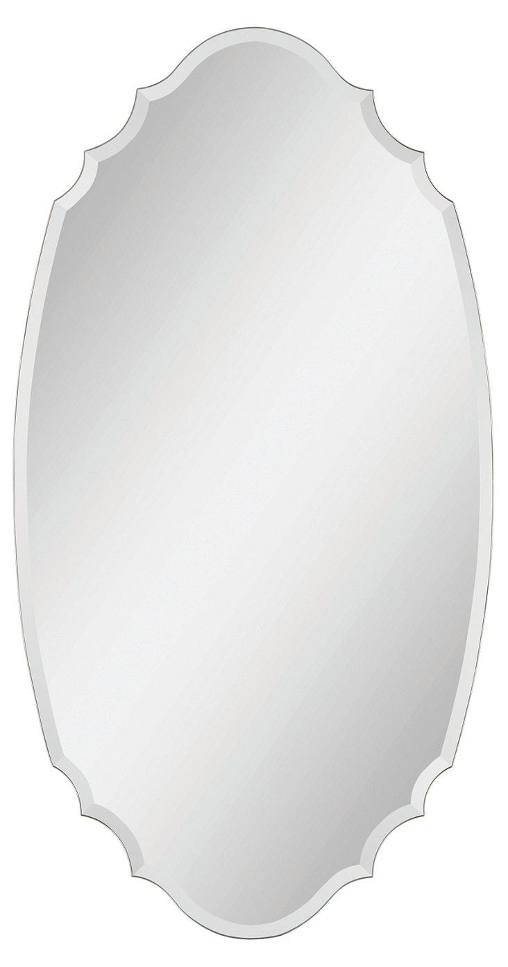 Carter Wall Mirror, Clear
