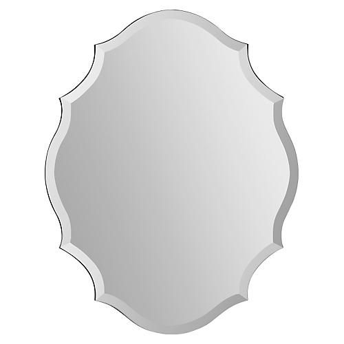 "Penelope 22""x28"" Wall Mirror, Glass"