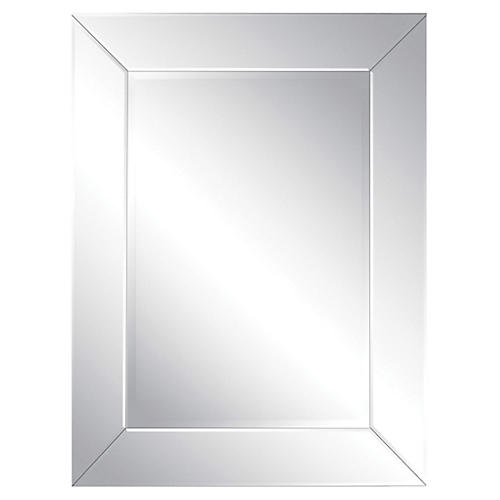 "Tribeca 30""x40"" Wall Mirror, Mirrored"