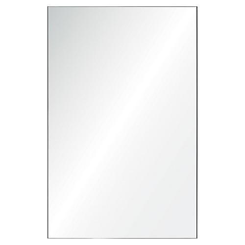 """Leiria 24""""x36"""" Wall Mirror, Mirrored"""