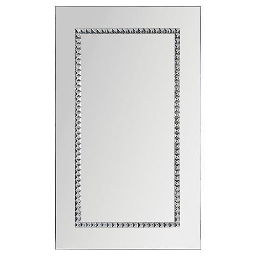 Dame Wall Mirror, Chrome
