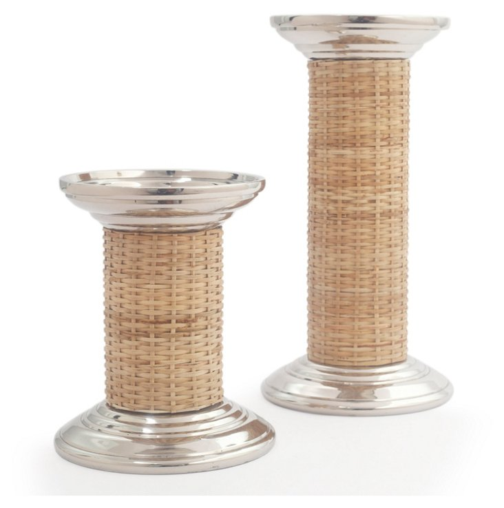 Pillar Holders w/ Cane, Asst. of 2