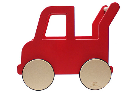 Truck Push Cart, Red