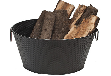 Steel Log Bucket