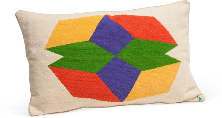 Geometric Block Pillow