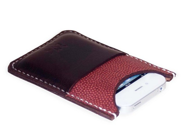 Football Leather iPhone Wallet