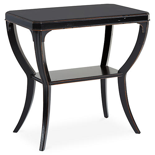 Keene Side Table, Black