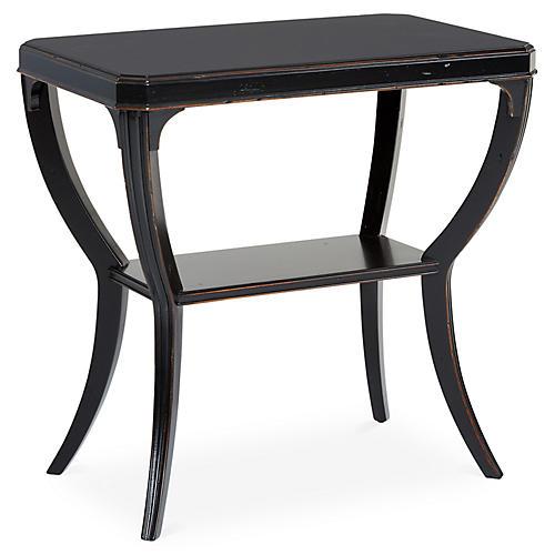 keene side table black