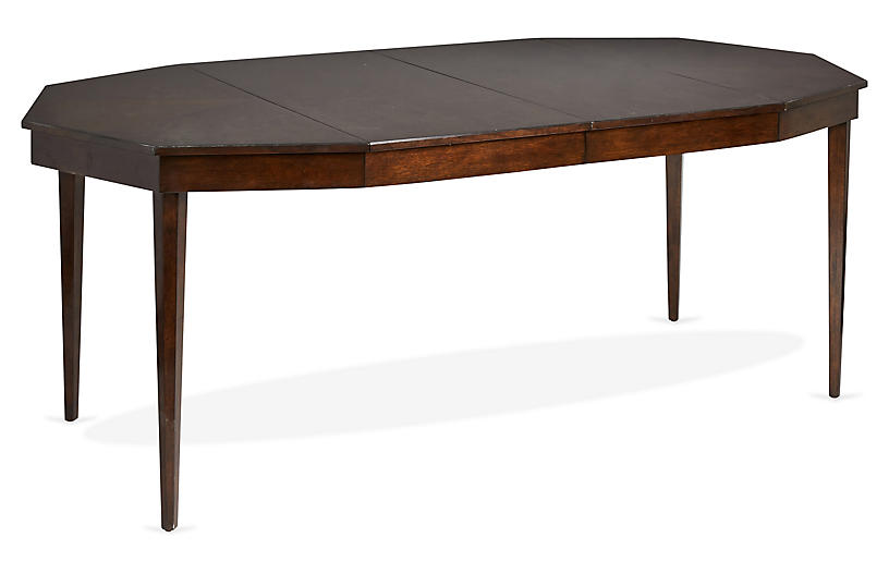 Hull Extension Dining Table, Mink