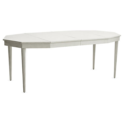Hull Extension Dining Table, Off-White