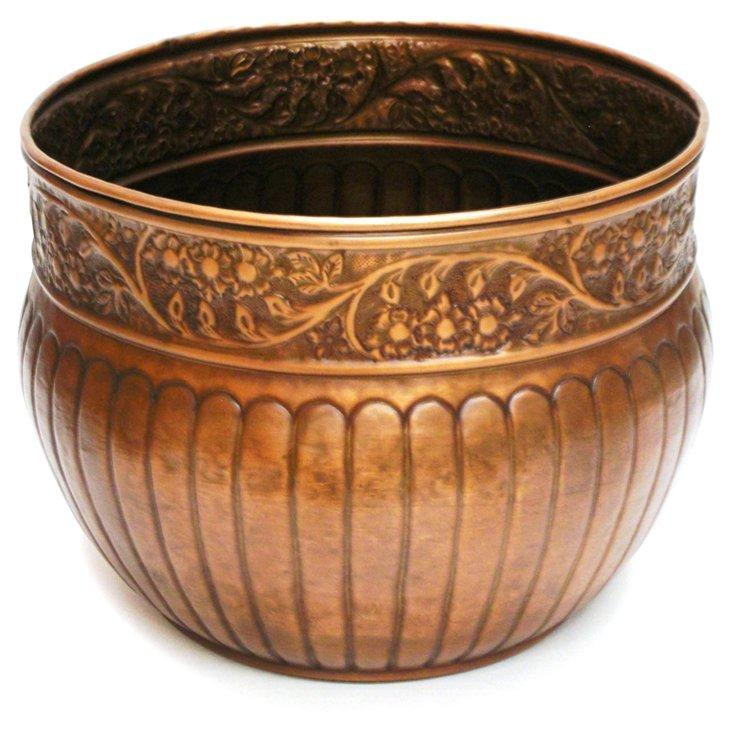 """20"""" Venetian Pot, Bronze"""