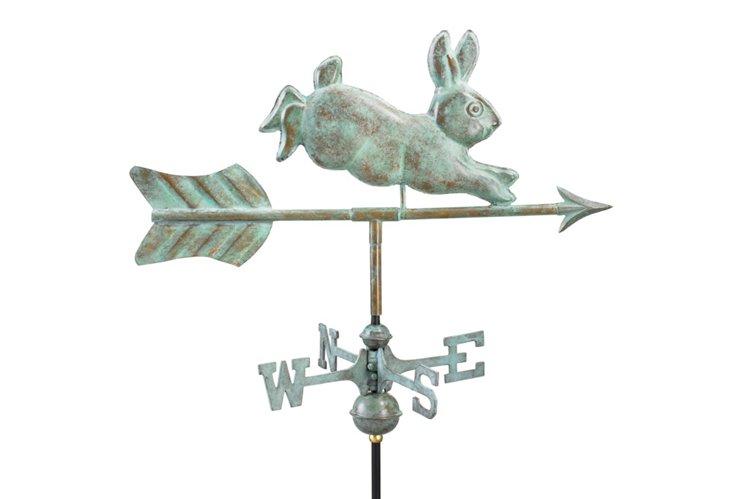 """21"""" Rabbit Weathervane"""
