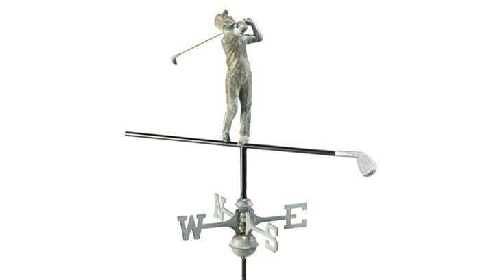 """22"""" Golfer Weathervane"""