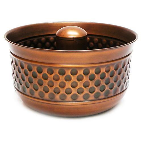 "20"" Venetian Hose Pot, Bronze"