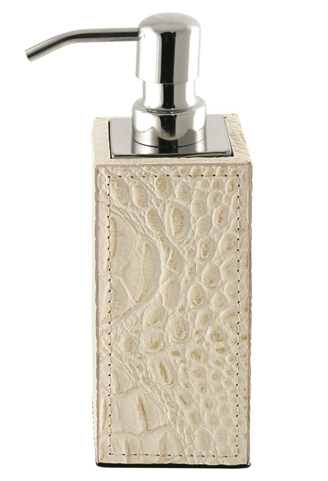 Ivory Alligator Soap Dispenser