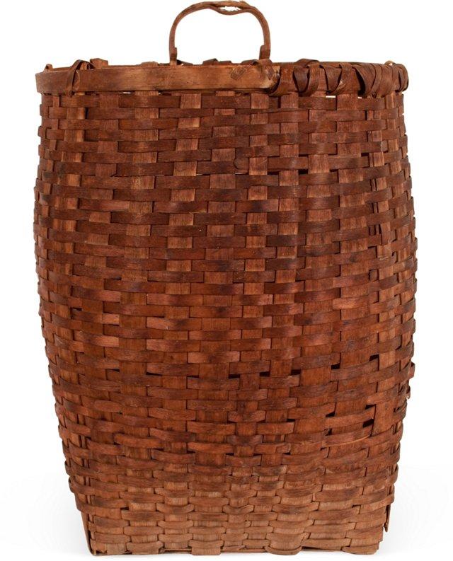 1930s Child's Pack Basket
